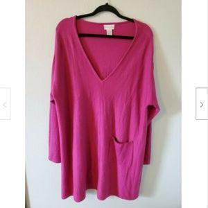 Soft Surroundings 2X Tunic Sweater